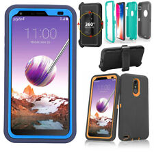 For LG Stylo 4/ 5 Plus /Q Stylus Case Belt Clip Fits Otterbox + Screen Protector