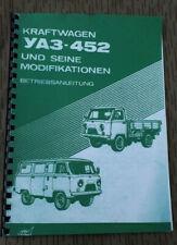 NVA UAZ 452 BETRIEBSANLEITUNG