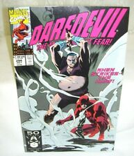 Marvel Comics Daredevil 1991 Vol 1 No 294 The Man Without Fear Comic Book