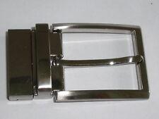 Gürtelschnalle Schnalle Schließe Buckle  4 cm altsilber NEUWARE rostfrei #685.2#