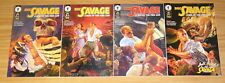 Doc Savage: Curse of the Fire God #1-4 VF/NM complete series pulp hero 2 3 1995