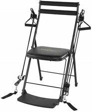 Palestra Sedia-totale corpo 50 Esercizio del sistema con Twister sedile & 5 DVD-NERA NUOVA