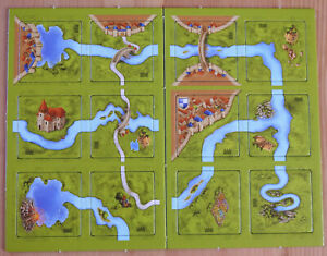 Carcassonne – River II | River 2 | Mini Expansion | New | English Rules