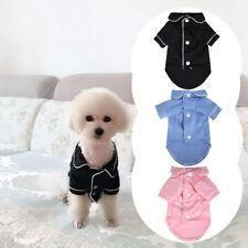 Pet Cat & Dog Pajamas Soft Puppy Small Dogs Luxury Sleepwear Winter Warm Clothes