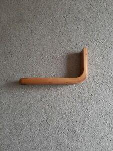 New Replacement Wooden L Shape Footstool/Furniture  Leg (3193B)