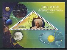 Ivory Coast 2016 MNH Albert Einstein & General Relativity 1v S/S Science Stamps