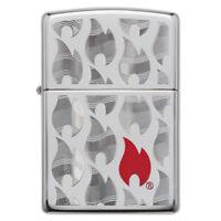 Personalised Genuine Flames Design 29678 Zippo Lighter - Free Engraving