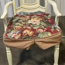 4 Dining Chair Seat Covers Floral Country Farmhouse