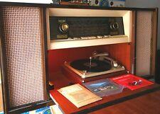♫♪♫Schaub Lorenz Duell 700 Stereo Radio mit Plattenspieler, 1959