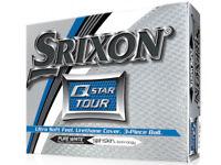 Srixon Q-Star Tour 1 Dozen Golf Balls - White