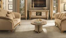 Mesita Baja Sofá Oval Diseñador Mueble Barroco Rococo Anktik Nouveau Clásico