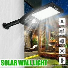 Solar Wall Street Light 36-LED PIR Motion Sensor Waterproof Outdoor Garden Lamp