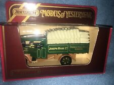 Joseph Rank Ltd. Premier Flour Mills ~ MATCHBOX Y-27 ~ 1922 Foden Steam Lorry~