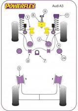 Powerflex Audi A3 MK1, Audi TT MK1 2WD, Seat Leon MK1 (Petrol & Cast Arms Only)