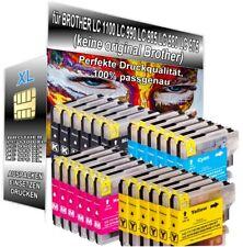 24 Patronen XXL für Brother LC1100 DCP-185C DCP-385C DCP-395CN MFC-490CW 795CW