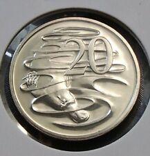 2004 Australia Twenty 20c Cent Coin - Uncirculated in 2x2 Holder Ex Mint Set -8a