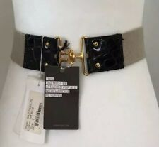 3.1 Phillip Lim Ink Blue Belt from La Garconne New with Tags