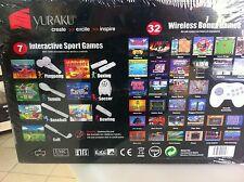 Console YURAKU interactive wireless game con 32 giochi inseriti (simile all WII)