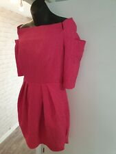 GORGEOUS bright Pink River Island Summer Occasion Dress. BNWT size 12