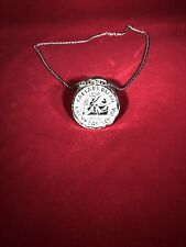 Caesars Palace Medallion Necklace (Metal)