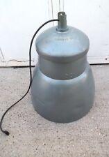 Lanterne lampe industrielle Philips NVF 250 suspension 1950