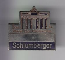 RARE PINS PIN'S .. INFORMATIQUE COMPUTER PC SCHLUMBERGER BERLIN ALLEMAGNE 91 ~D2