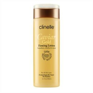 Clinelle Caviar Gold Firming Lotion 180ml Contains 24K Nano Gold FB