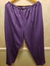 Only Necessities Elastic Waist Shorts Lavender 18 20 22 24 26 28 and 30W!