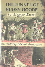 THE TUNNEL OF HUGSY GOODE-ELEANOR ESTES-1ST/1ST W/$5.25 D/J- COLLECTABLECLASSIC!