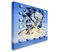More details for salvador dali - galatea of the spheres canvas wall art picture print