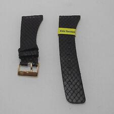 Cinturino pelle Morellato stam. lucertola colore brown ansa 18 fibbia dorata b24