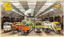 Malaysia Train 2010-Bangkok overprint Railway, Locomotive, Transport (MS) MNH