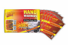Heat Factory Hand Warmers 12 Pair Big Pack FREE SHIPPING!!!!!