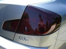 03-06 PRECUT SMOKE TINT COVER SMOKED OVERLAYS FOR G35 SEDAN TAIL LIGHT