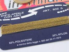 infilaperle professionale con ago color oro misura S small sottile  lungo 180 cm