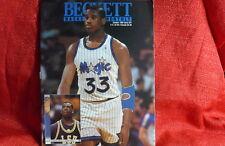 NBA Beckett Magazine Orlando Magic Shaquille O'neal Oct 1992
