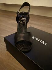 Chanel wedge shoes Calf Skin 2017 Size 41 Runs Small paid more than $1200