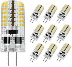 G4 LED Light Lamp 48L 3014 3W Equivalent to 20W ~ 25W AC/DC 12V T3 Halogen Bulb