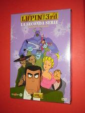 LUPIN THE 3RD- 2°SERIE- COFANETTO BOX N°5-contiene 5 DVD ANIMAZIONE-  SIGILLATO