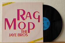 "12"" Maxi - THE JAYE BROS - Rag Mop - Long Version - MARIO ALDINI - Belgium ´87"
