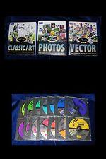 MASTERCLIPS IMSI - 3 Volumi + 14 CD - 150.000 immagini, font, suoni, etc - 1997