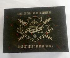 2008 Playoff Prime Cuts Series 4 IV Baseball Hobby Box MLB Super Rare!