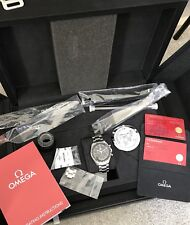 Full Box Content Omega Speedmaster Moonwatch Professional  Chronograph Watch