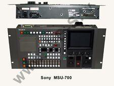 Sony msu-700 - Master Setup Unit per sony studio telecamere della BVP-serie