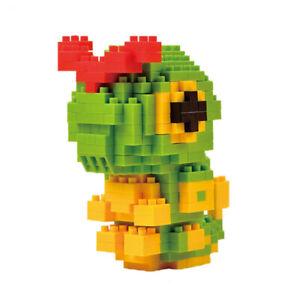 Caterpie Pokemon Nanoblock 3D Puzzle Toy Mini Micro Diamond Block 320 Pieces