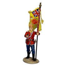 First Legion: MB074 British 80th Foot Standard Bearer - Regimental Colors