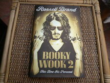 RUSSELL BRAND BOOKY WOOKY 2 THIS TIME ITS PERSONAL BOOK HARDBACK