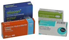 10mg Generic Cetirizine Hay Fever, Allergy Relief Tablets