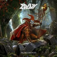 EDGUY Monuments (2017) 50-track 2-CD + DVD digibook album NEW/SEALED