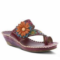 Spring Step L'Artiste Women's Vardi Slide Sandal Purple EU 39 / US 8.5